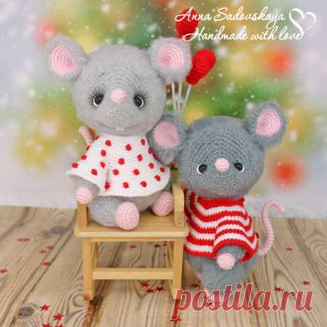 Влюблённые мышки. Мастер-класс по вязанию крючком - Зверики - Вязаная жизнь   игрушки Влюбленные мышки. Мышонок. Вязаная игрушка. Амигуруми #влюбленныемышки #мышь #мышонок #мышка #вязанаямышка #вязаныймышонок #вязанаяигрушкакрючком #вязаныймышоноккрючком #амигуруми #амигурумимышонок #амигурумиигрушка #амигурумикрючком #вязаниекрючком #вязание #мастерклассповязаниюкрючком #новогодняяигрушка #новыйгод2020 #игрушкасвоимируками #вашиработы #вашихватики
