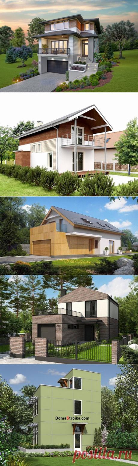 Дом для узкого участка: что учитывать выбирая проект ⋆ DomaStroika.com