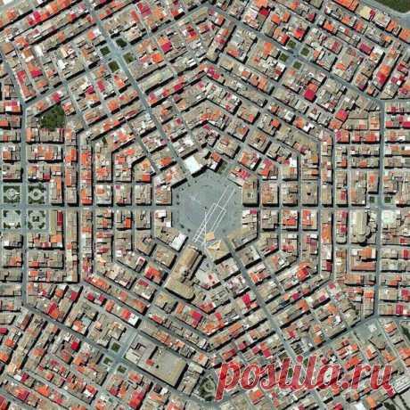 Town-planning esthetics
