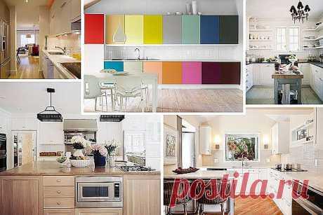 Практичные идеи для маленьких кухонь (Часть 1)   Интерьер и Дизайн