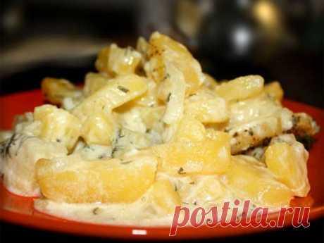 Картошка в сметане