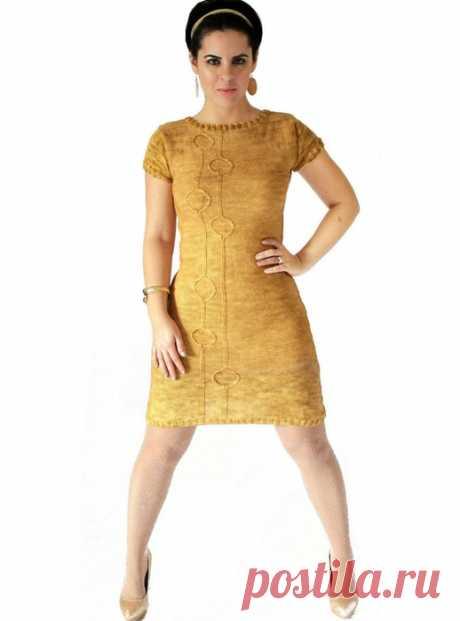Вязаное платье Miss Holloway с узором из колец от дизайнера Sarah Wilson