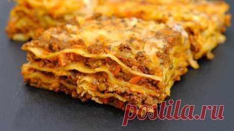 Самая популярная запеканка в мире - доступный и простой рецепт Лазаньи — Кулинарная книга