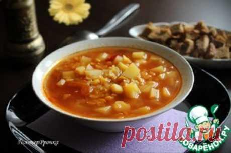 La sopa admirablemente perfumada de guisante - la receta de cocina