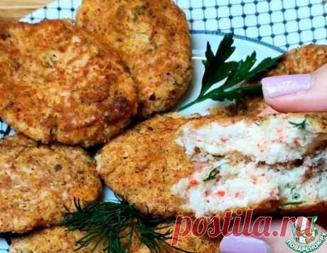 Крабовые котлетки с плавлеными сырками – кулинарный рецепт