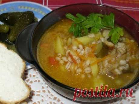 Суп рассольник,простой рецепт