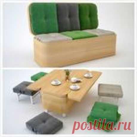 Удивительная мебель-трансформер