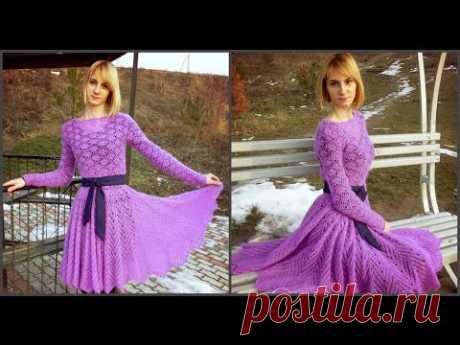 Платье из мохера!//Valentinka B.
