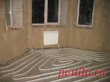 тёплый пол водяной от радиатора в квартире - Поиск в Google