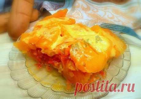 Запеченная тыква с сыром рецепт с фото пошагово - 1000.menu