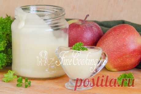 Яблочный майонез - рецепт