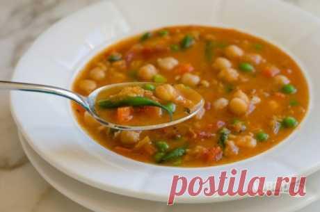 Суп из чечевицы и нута - пошаговый рецепт с фото на Повар.ру
