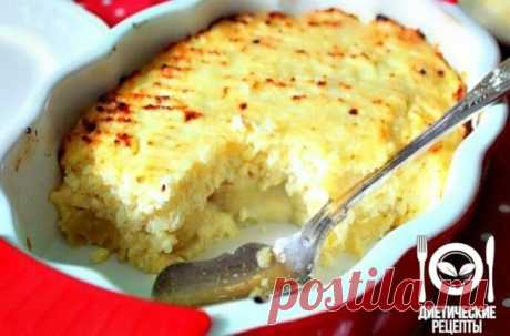 Banana baked pudding: tasty and simple recipe!\u000aon 100 grams - 97.59 kkalb\/zh\/u - 7.25\/0.74\/15.36\u000a\u000aIngredients:\u000aSkim cheese of 360 g\u000aEgg of 1 piece.\u000aWhole-wheat flour (it is possible to replace with ground oat flakes) 2 tablespoons. \u000aBananas (mature) 6 pieces.\u000aFor the recipe thanks to group Dietary recipes\u000a\u000aPreparation:\u000aTo wipe cottage cheese through a sieve, to mix with eggs and flour, to vent carefully. \u000aTo pound bananas in mashed potatoes and to add to curds. \u000aTo lay out in a form for roasting. \u000aTo bake p...