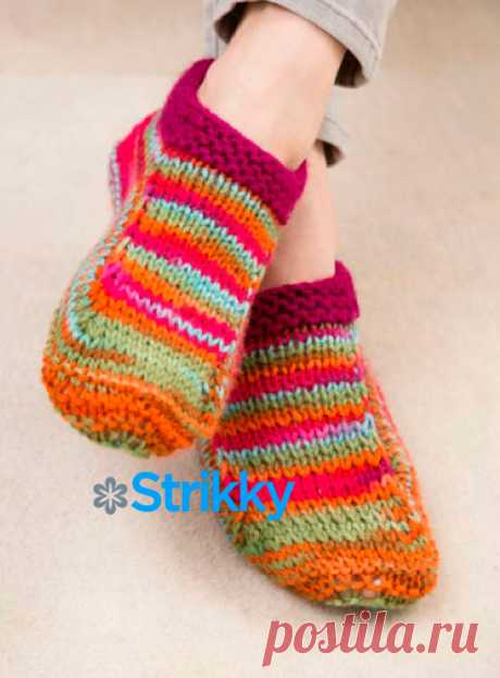 """Socks \""""For Mother and the Daughter\"""" from Christine Marie Chen knitted spokes"""