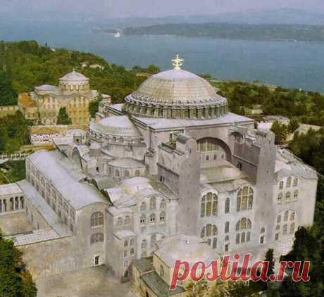 Собор святой Софии в Стамбуле: неприглядное величие   Архитектура   Яндекс Дзен