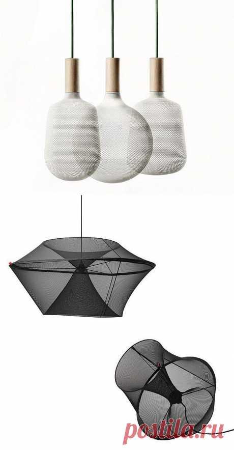 Светильники с сетчатыми абажурами | Твой Ремонт!!!