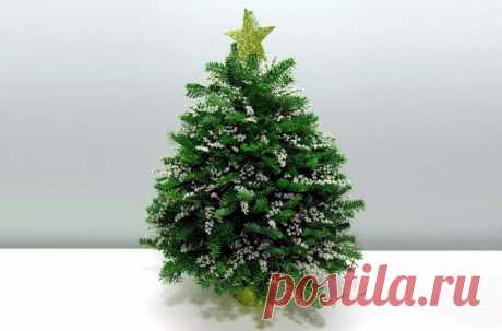 Новогодняя елка своими руками из веток и губки   33 Поделки Какую елочку поставить в Новый год? Сегодня мы расскажем вам, как сделать небольшую новогоднюю елку своими руками из веток и обычной флористической губки