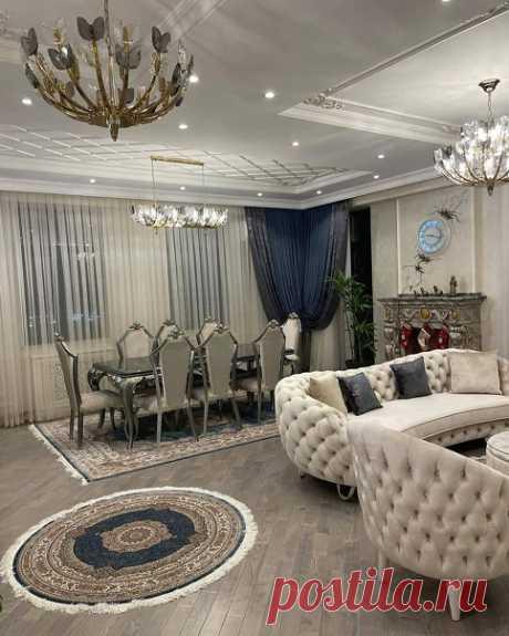 Дорогая квартира в классическом стиле