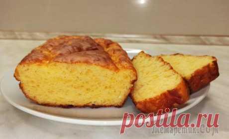Домашний сырный хлеб без дрожжей/простой рецепт