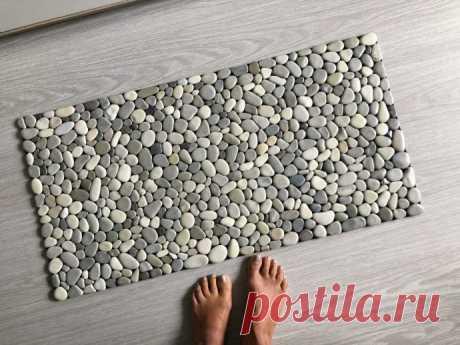 Массажные коврики из камешков