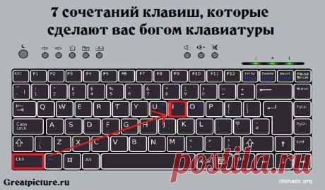 7 сочетаний клавиш, которые сделают вас богом клавиатуры 7сочетанийклавиш, которые сделают вас богом клавиатуры.Особенно понравилось, как обмануть начальника.Почти каждый из нас уверен