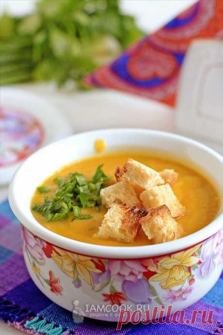 Суп-пюре из кабачков с сухариками — рецепт с фото пошагово