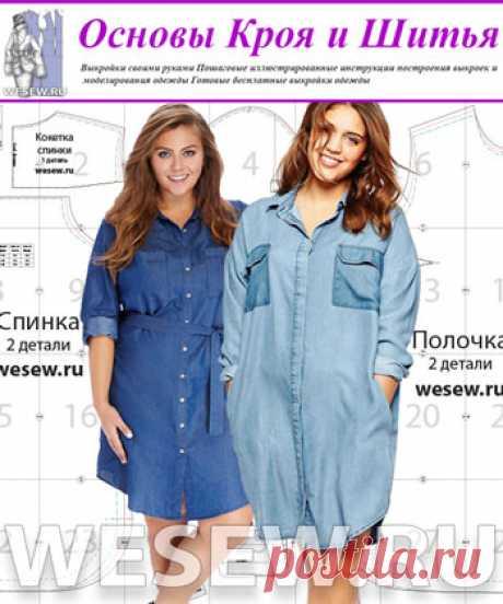 (+2) patrón Preparado del vestido-camisa para completo en tres dimensiones (Costura)