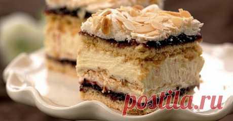 Торт «Пани Валевска» Торт «Пани Валевска»