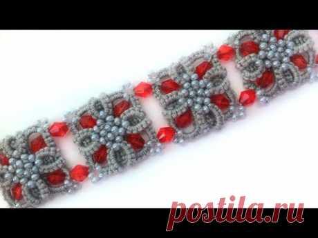 You frivolit a bracelet a needle ankars. A master class you frivolit video. DIY Bracelet frivolite needle ankars - YouTube