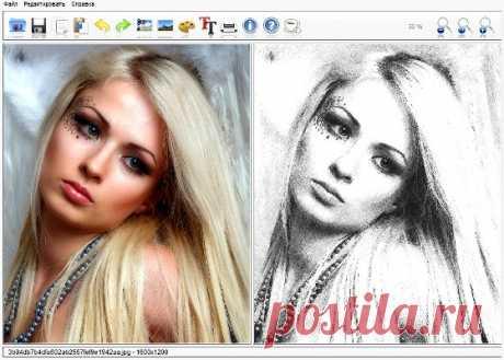 fotosketcher 2.35c rus portable