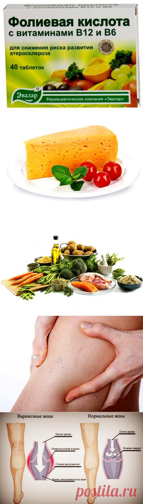 диета меню при варикозе меню