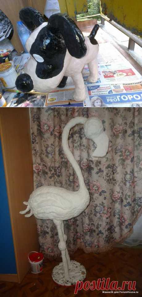 Скульптуры Жанны.