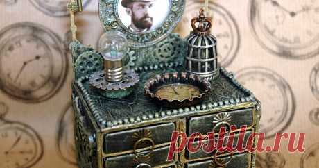 GUEST DESIGNER STEAMPUNK MATCHBOX DRESSER & TUTORIAL   Hello everyone and welcome to my blog!     I was so excited to recently be invited as a guest designer for   Sandee & Amelie's Steampunk ...