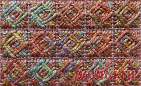 """Милые сердцу штучки: Техники вышивания. Часть 13: """"Norwich"""" (гобеленовый стежок)"""