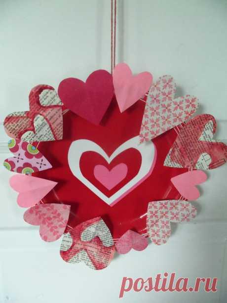 Открытка с днем Святого Валентина своими руками — Коробочка идей и мастер-классов