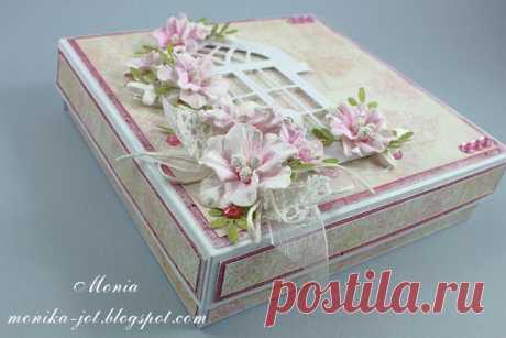 коробочка для открыток
