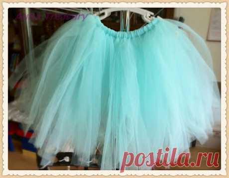 AuRa Treasury: DIY Projects - How to Make a No-Sew Tutu Skirt / Dress