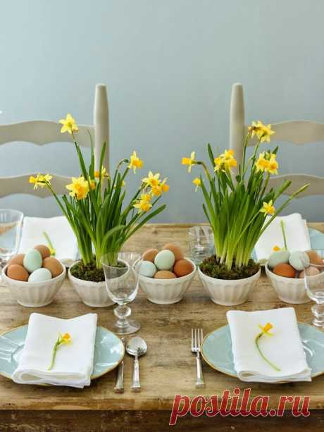 15 идей декора пасхального стола | IVOREE
