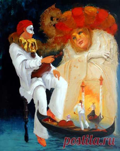 Французский художник George Corominas