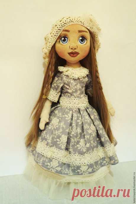 Шьем текстильную куклу с объемным лицом