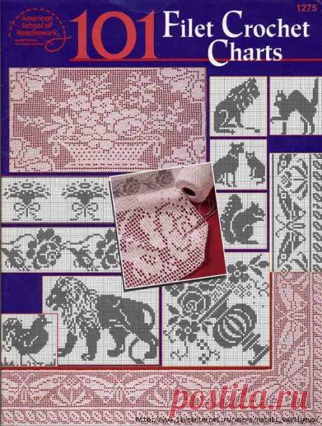 Книга Rita Weiss - 101 Filet Crochet Charts