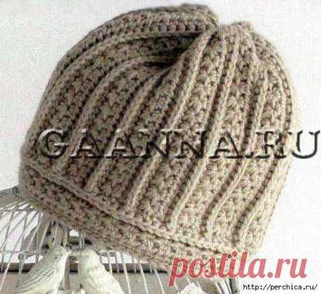 Шапочка и шарфик из журнала Star Crochet * Звездные полоски* - схемы и видео мк