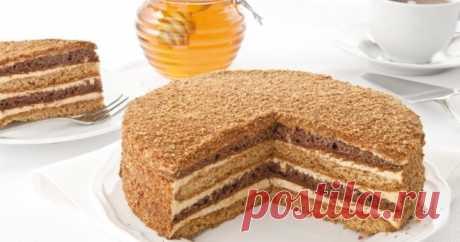 Рецепты медовых коржей для тортов