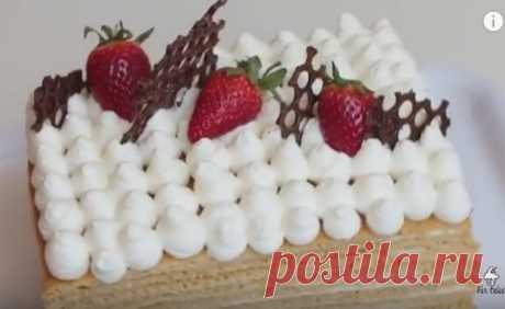 Рецепт очень вкусного голого торта «медовик»