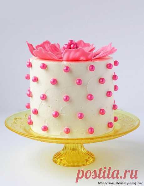 Как сделать простое и красивое украшение для любого тортика на праздник!
