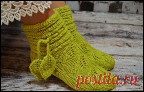 Секреты рукоделия: как вычислить количество петель для вязания носков на любой размер и при любой плотности вязания.