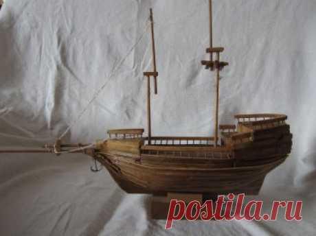 Модель корабля своими руками — Своими руками