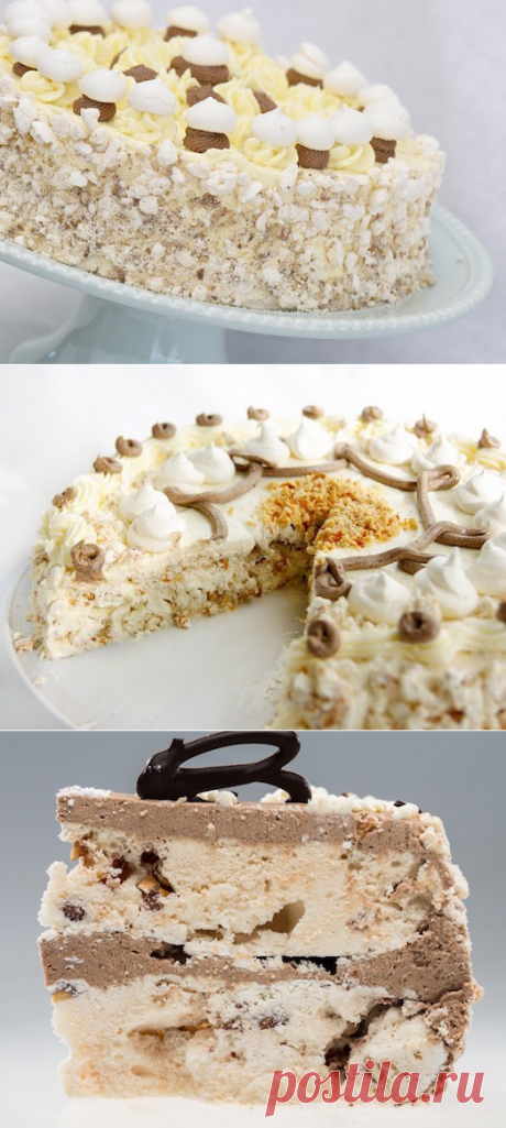 "You love desserts? Cake ""Weeds\"" — pleasure for sweet teeth — Tasty recipes"