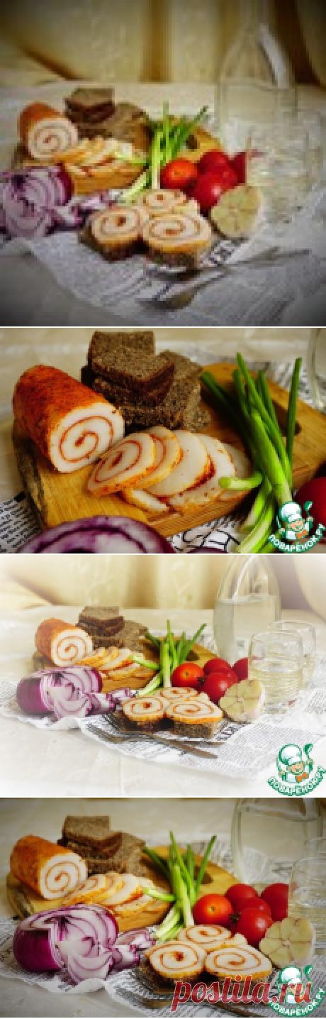 Сало по-новому - кулинарный рецепт