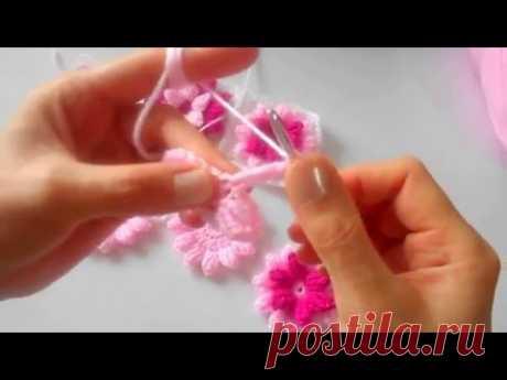 Çiçek Motif Yapılışı # 1